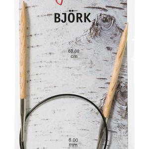 Björk strikkepinde i Birketræ